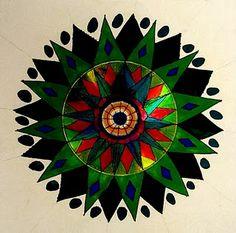 Como hacer un Mandala con un Cd Paso a Paso - enrHedando