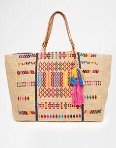 Enlarge Star Mela Peri Embroidered Bag