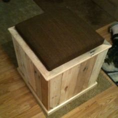Furniture made from old shipping pallets. My hubby made this!