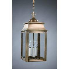 Northeast Lantern Concord Candelabra Sockets Pagoda 3 Light Hanging Lantern | Wayfair