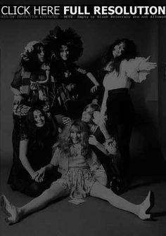 GTO's: Pamela Des Barres, Cindy Wells, Mercy Fontenot, Christine Frka, Lucy Offerrall, Sandra Leano, Linda Sue Parker.