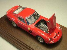 1/43 scale Ferrari 250gto by Hideki Suzuki