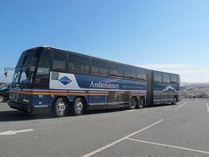 Prevost H5-60 articulated coach, Ambassatours, Halifax, Nova Scotia, Canada