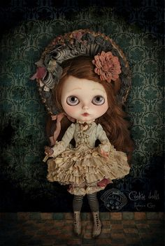 Sauco by Rebeca Cano ~ Cookie dolls on Flickr.
