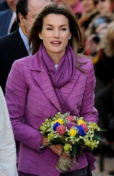 Princess Letizia - Spain´s Princess Letizia Visits Zamora