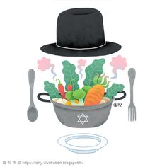 聯合報文章插畫-可食可以吃什麼?  猶太教的飲食規範