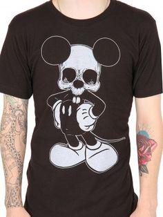 "Men's ""Josh Stebbins Mickey"" Tee by Lowbrow Art Company"
