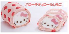 HELLO KITTY ROLL CAKE where have you been all my life?!