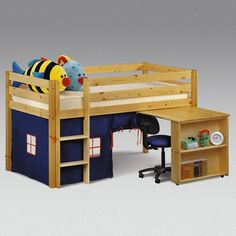 Amanda Single Mid Sleeper Bunk Bed Tent High Sleeper Bedroom Furniture Sleeper Grab this Wonderful Novelty. At Luxury Home Brands WE always Find Great Stuff for you :) Mid Sleeper Cabin Bed, Kids Mid Sleeper, High Sleeper, Bunk Bed Tent, Kids Bunk Beds, Play Beds, Childrens Cabin Beds, Tidy Room, Bed Mattress