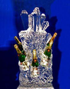 ледяная подставка для шампанского