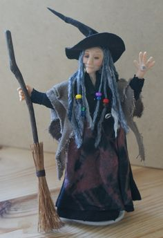 c82b3df0788 Hagraphina the Magic Eye Witch ooak by JendlewickDolls on Etsy Magic Eyes