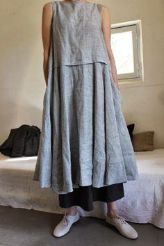 comfy and cute outfits Linen Dresses, Casual Dresses, Summer Dresses, Maxi Dresses, Sleeveless Dresses, Ropa Shabby Chic, Boho Fashion, Womens Fashion, Fashion Design