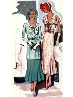 30's fashion was good also