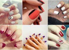 Desene pe unghii la moda