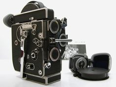 Bolex Rex 4 16mm Reflex Movie Camera w Light Meter Inst Nice | eBay