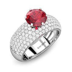 Ciara Ruby Ring