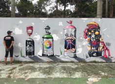 Choose your destiny by @escapeva in #Malaysia -- http://globalstreetart.com/escapeva -- #globalstreetart #graffiti #art
