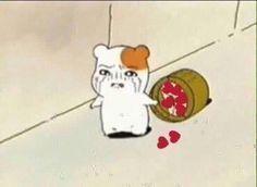 Memes Amor, Dankest Memes, Funny Memes, Reaction Pictures, Funny Pictures, Memes Lindos, Hamtaro, Cute Love Memes, Heart Meme
