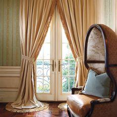 Gojee - Monaco Velvet Curtain by Frontgate