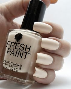 Fresh Paint Coconut - review at thelacqueredstash.blogspot.com