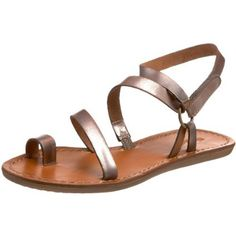 Nicole Women's Dash Thong #Sandal in New Bronze