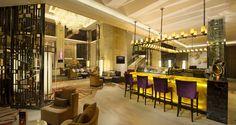 Hilton Zhongshan Downtown Hotel, China - Lobby Lounge Bar