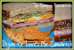 The Hungry Housewives- GarLic it Week! Recipe: Dijon He Loves Me Sandwich …& there's a giveaway ;)