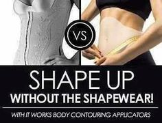 Stop squeezing into shapewear! It works wrap results last 2-6 months or can be permanent with a healthy lifestyle!