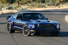 Brett Behren's Triton V10-powered Mustang Evolution, designed by Ben Hermance and built by A-Team Racing/SEMA