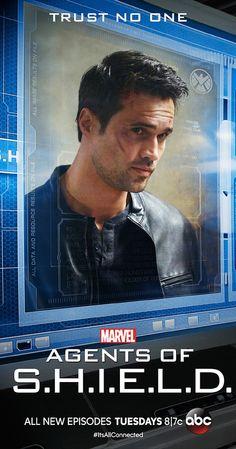 Brett Dalton as Ward in Agents of S.H.I.E.L.D.