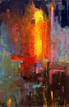 William Wray Reconstruction Abstraction painting