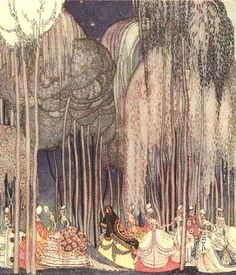 The Twelve Dancing Princesses and Other Fairy Tales (Calla Editions) Illustrated by Kay Nielsen