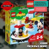LEGO 10881 Mickeys Boat DUPLO Mainan Kapal Anak Disney Original #thekingbricks #theking #thekingid #kingbricks #gvonline #uhappyihappy #tokolegoterpercaya #tokomainanoriginal #lego10881 Lego Duplo Sets, Lego City, Lego Star Wars, Avengers, The Originals, Disney, The Avengers, Disney Art