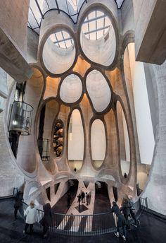 Vista del interior. Zeitz MOCAA por Thomas Heatherwick. Fotografía © Iwan Baan