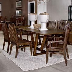 Broyhill Furniture Attic Retreat 6 Piece Dining Table Ladderback Chair And Bench Set Diningroom