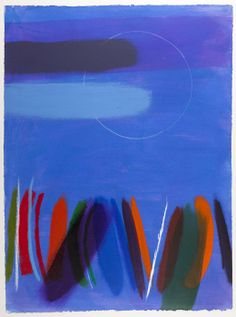 Last Night No.1, 1998 by Wilhelmina Barns-Graham (Scottish 1912-2004)