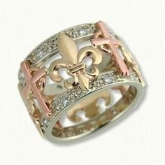 fleur de lis jewellery - Google Search