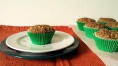 Muffin de Pera e Maçã