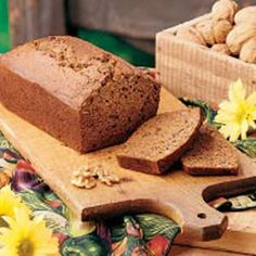Walnut-Date Quick Bread