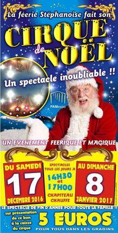 Bij Sprookjesland in Court-St.-Étienne, België staat Circus Stromboli, die per dag twee verschillende voorstellingen presenteert van17 december tot 8 januari.