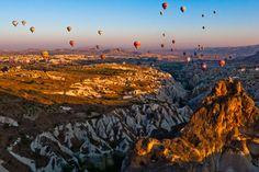 Cappadocia, Turkey  http://www.wirtualnaturcja.pl/turcja-kapadocja.html