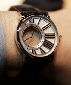 Rotunde Cartier Mystery watch