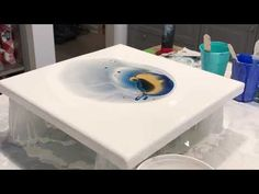 Abstract Painting Dark Spot Youtube Acrylic Pouring