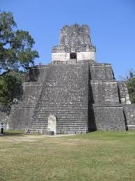 Often the most important temples sat on top towering Maya pyramids, some of over two-hundred feet. The sanctuary on top commonly was heightened by a crest or roof comb. Tikal is shown in the photo (temple pyramid with prominent roof comb). Mayan Ruins, Ancient Ruins, Ancient Aztecs, Ancient Artifacts, Tikal, Maya Architecture, Amazing Architecture, Monuments, 7 World Wonders