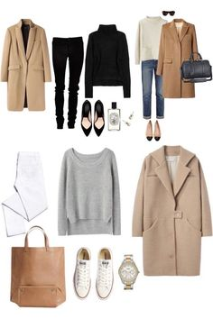 -- Source by BabbaGii Moda Capsule Outfits, Fashion Capsule, Mode Outfits, Winter Outfits, Fashion Outfits, Fashion Pants, Fashion Clothes, Fashion Tips, Looks Style