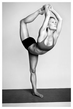 dancer pose. I may never have that body, but I could possibly get that far into the pose. #Alt-Chic #needmoreyoga