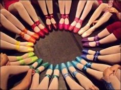 Rainbow Point Shoes