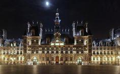 Hotel de ville, Paris by (GermanArtman) on Twitter