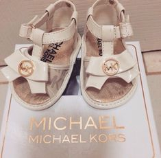 Shoulder Bags : Michael Kors Outlet – Women's Fashion Show!, Michael Kors Outlet – Women's Fashion Show! Cute Baby Shoes, Baby Girl Shoes, Cute Baby Clothes, My Baby Girl, Girls Shoes, Little Girl Fashion, Kids Fashion, Fashion Bags, Women's Fashion