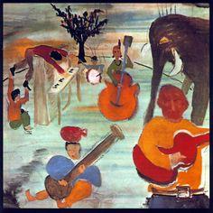 Carátula Trasera de The Band - Music From Big Pink